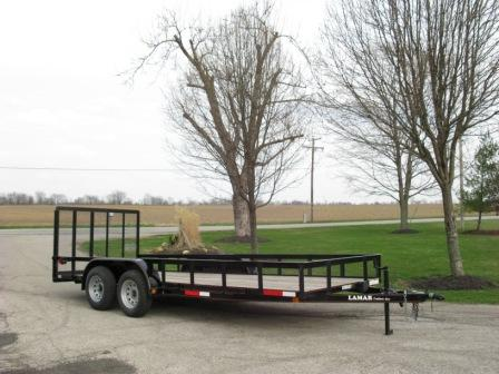 TANDEM UTILITY TRAILERS AT CENTRAL TIRE SERVICE