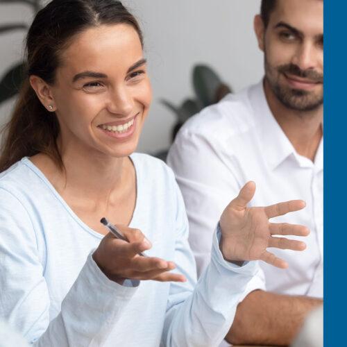 Female Engaged Employee Image