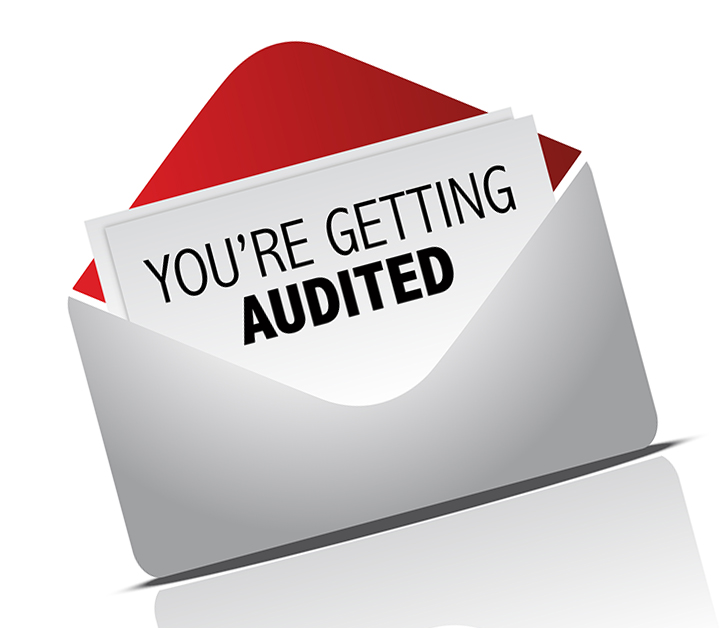 Your Getting Audited Image