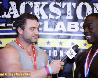 2019 IFBB Atlantic Coast Classic Physique  Winner Dancovea Anderson After Show Video