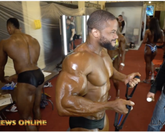 2019 IFBB PittsburghPro Backstage Footage