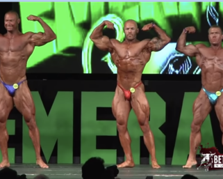 On Stage Video: National Physique Committee Emerald Cup Bodybuilding Overall