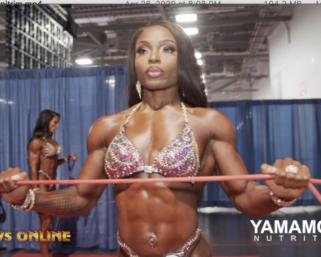Backstage Video: IFBB Professional League Women's Figure (2019 Arnold) Pt.1 & 2