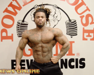 Posing Video: Men's Physique Competitor Quincey Whittington Posing Practice
