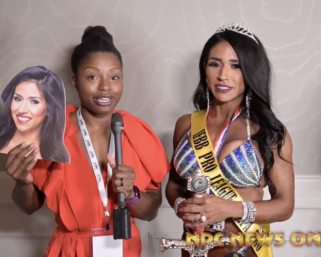 2020 IFBB Pro League Tampa Pro Wellness Winner Renee Harshey After Show Interview