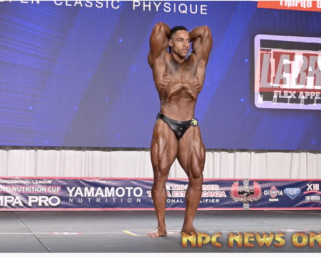 2020 IFBB PRO LEAGUE TAMPA PRO CLASSIC PHYSIQUE  WINNER DEONTRAI CAMPBELL POSING ROUTINE