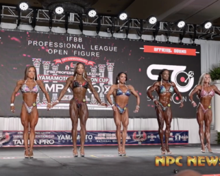 2020 @ifbb_pro_league @wingsofstrength @yamamotonutrition Cup Tampa Pro Women's Figure Prejudging Video