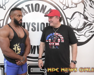 IFBB Pro League Interview Series: Classic Physique Pro Tony Taveras Interviewed By J.M. Manion