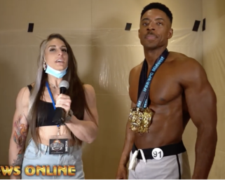 2020 NPC Midwest Naturals Men's Physique Overall Winner Tommy Morgan After Show Interview