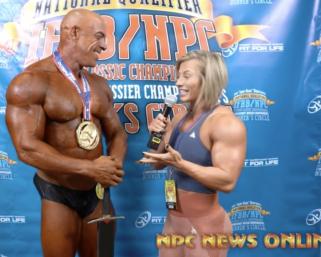 2020 IFBB Pro League Optimum Classic Interview:Aaron Sparenburg Classic Men's Physique Over 40 Champ
