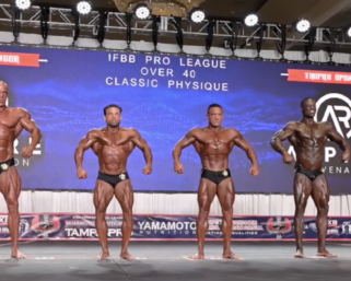 2020 IFBB Pro League Tampa Pro Masters Classic Physique Over 40