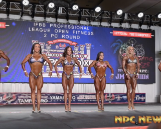 2020 IFBB Pro League Tampa Pro Fitness Prejudging Video