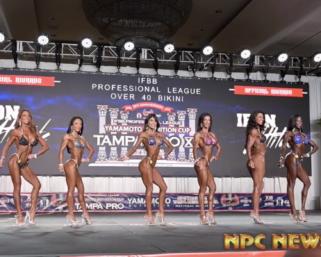 2020 IFBB Pro League Tampa Pro Masters Bikini Prejudging Video
