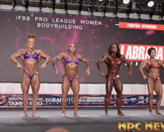 2020 IFBB Pro League Tampa Pro Women's Bodybuilding Prejudging Video