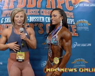 2020 IFBB Pro League Optimum Classic Interviews: Women's Physique 2nd Place LORRAINE GONZALEZ