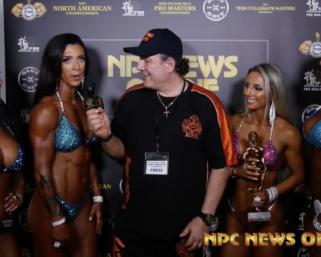 2020 NPC North American Wellness Class & Overall Winners After Show Interview