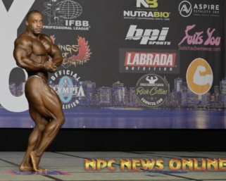 2020 @ifbb_pro_league NY Pro Men's 212 Bodybuilding Winner Bo Lewis @ifbbpro_flexxdiesel Posing Routine