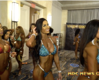 2020 IFBB NY Pro Bikini Backstage Video