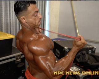 2020 @ifbb_pro_league NY Pro Men's Physique Backstage Video