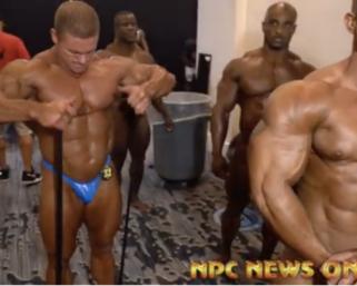 2020 @ifbb_pro_league NY Pro Men's 212 Bodybuilding Backstage Video