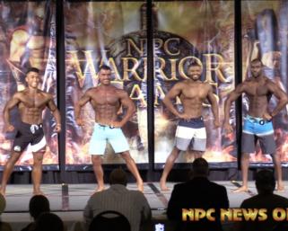 2020 NPC Warrior Games Men's Physique Overall Video