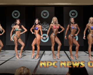 2020 NPC Whitney Jones Classic Bikini Finals Video
