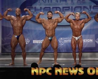 2020 NPC Night of Champions Bodybuilding Finals Video