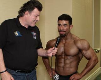 2020 NPC Universe Men's  Classic Physique Overall Winner Tomas Adame Hernandez