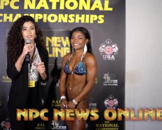 2020 NPC National Championships Wellness Overall Winner Mia Samuels
