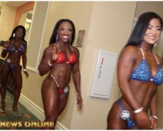 2020 NPC Universe Backstage Day 2. Wellness, Fitness & Bikini Video
