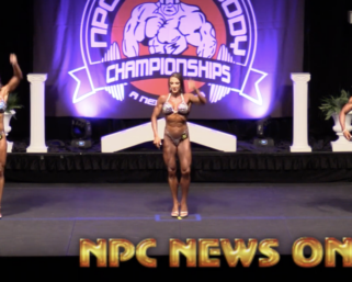 2020 NPC TOTAL BODY CHAMPIONSHIPS WOMEN'S FIGURE VIDEO