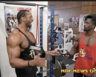 Road To The Olympia: Back and Abs Training With Raymont Edmonds and George Brown