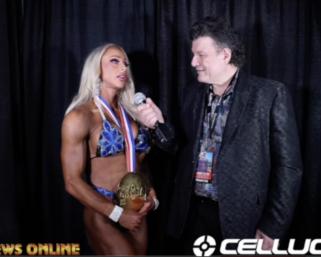 2020 Olympia:  Women's Fitness Winner Missy Truscott Interview With J.M. Manion