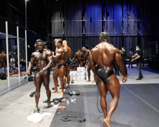 2020 Olympia Classic Physique Backstage Video