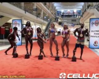 2020 NPC Worldwide  Amateur Olympia Orlando J.M. Manion BTS Winner Shoot Video