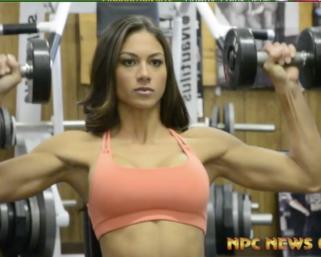 2020 Bikini Olympia Champion Janet Layug: 2014 NPC Photo Gym Workout Video