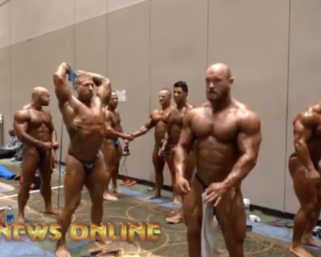 2020 NPC National Championships Men's Backstage Pt. 2 Video