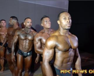 2020 NPC National Championships Men's  Backstage Pt 4 Video