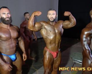 2020 NPC National Championships Men's  Backstage Pt 3 Video