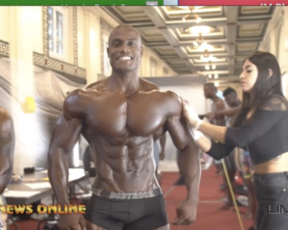 2019 IFBB Pittsburgh Pro Men's Physique Backstage Video