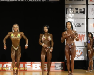 2019 IFBB Pittsburgh Pro Women's Figure Prejudging Video