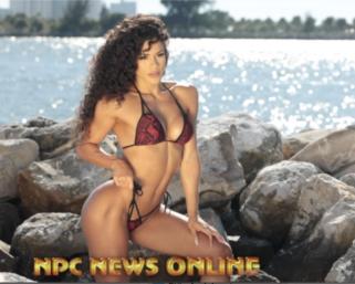 2020 IFBB N.Y. Pro Bikini Winner Etila Santiago Behind The Scenes Clearwater Beach Part 1
