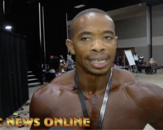 2020 NPC Southwest USA Championships Men's Physique Overall Cordell Waddey
