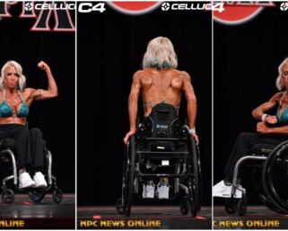 Jen Pasky Jaquin  2020 Wheelchair Olympia  Guest Poser Video