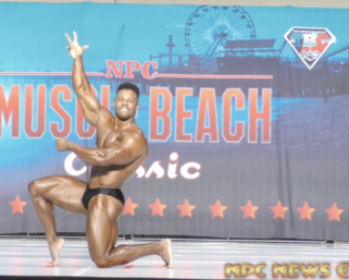 Guest Posing Video of the Day: 2x Men's Classic Physique Olympia Champion Breon Ansley