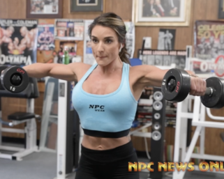 Road To The IFBB Pro League Pittsburgh Pro: Krystal Monteiro Training
