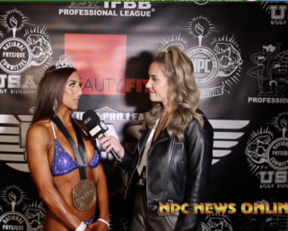 2021 NPC BORDER KLASH:  Bikini Overall Winner Kathy Seitz Interviewed By Sarah Lyon