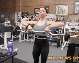 Road To The IFBB Pittsburgh Pro 2021: Jessica Telesco Training
