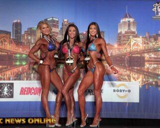 2021 Jim Manion's IFBB Pittsburgh Pro Bikini First & Last Comparisons & Awards Presentations