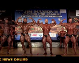 2021 Jim Manion's IFBB Pittsburgh Pro Classic Physique First-Last Comparisons & Awards Presentations